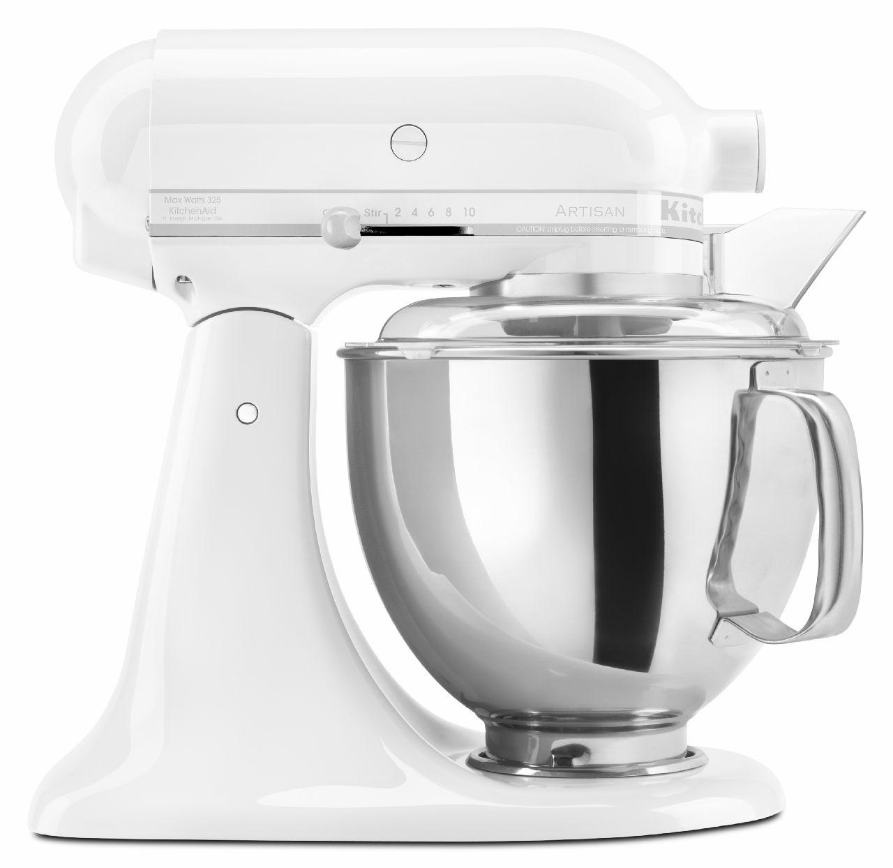 KitchenAid-Artisan-Design-Series-5-Quart-Tilt-Head-Stand-Mixer-with-Glass thumbnail 13