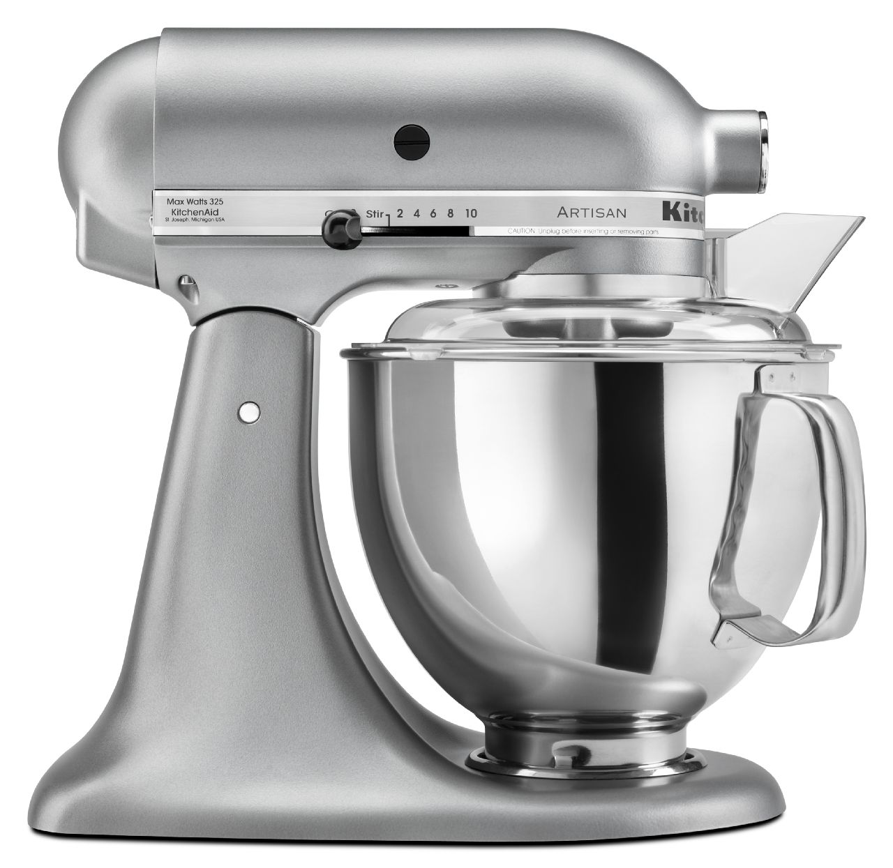 KitchenAid-Artisan-Series-5-Quart-Tilt-Head-Stand-Mixer-10-Speeds-KSM150PS thumbnail 107