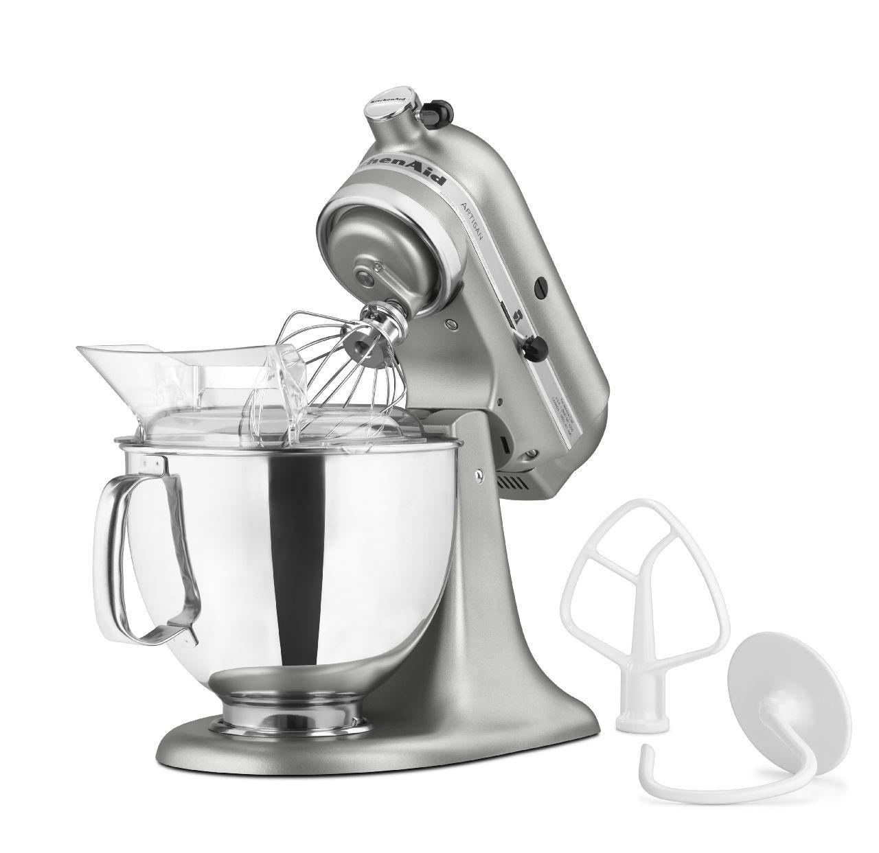 KitchenAid-Artisan-Series-5-Quart-Tilt-Head-Stand-Mixer-10-Speeds-KSM150PS thumbnail 44