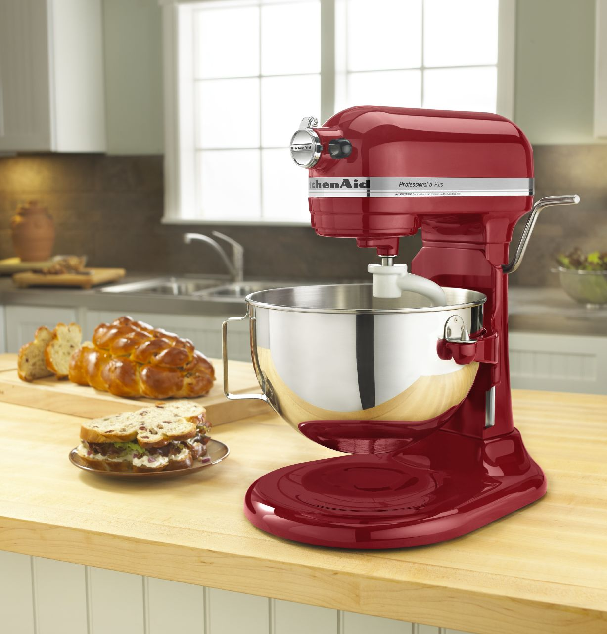 KitchenAid-Professional-5-Plus-Series-5-Quart-Bowl-Lift-Stand-Mixer-KV25G0X thumbnail 5