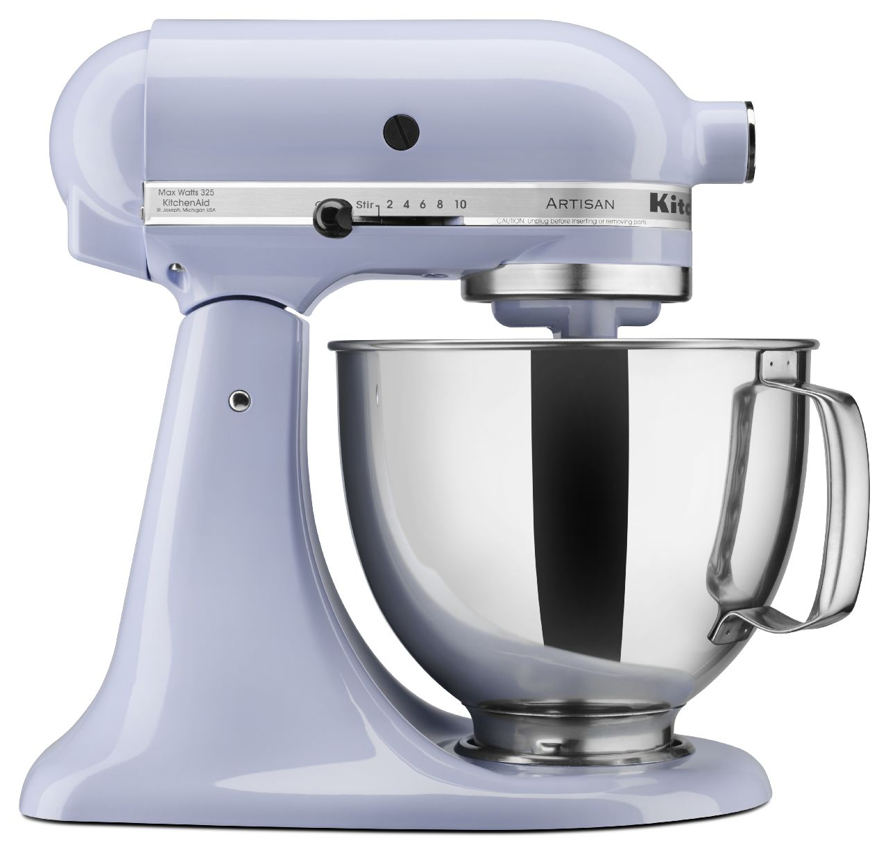 KitchenAid® Refurbished Artisan® Series 5 Quart Tilt-Head Stand Mixer, RRK150 Lavender