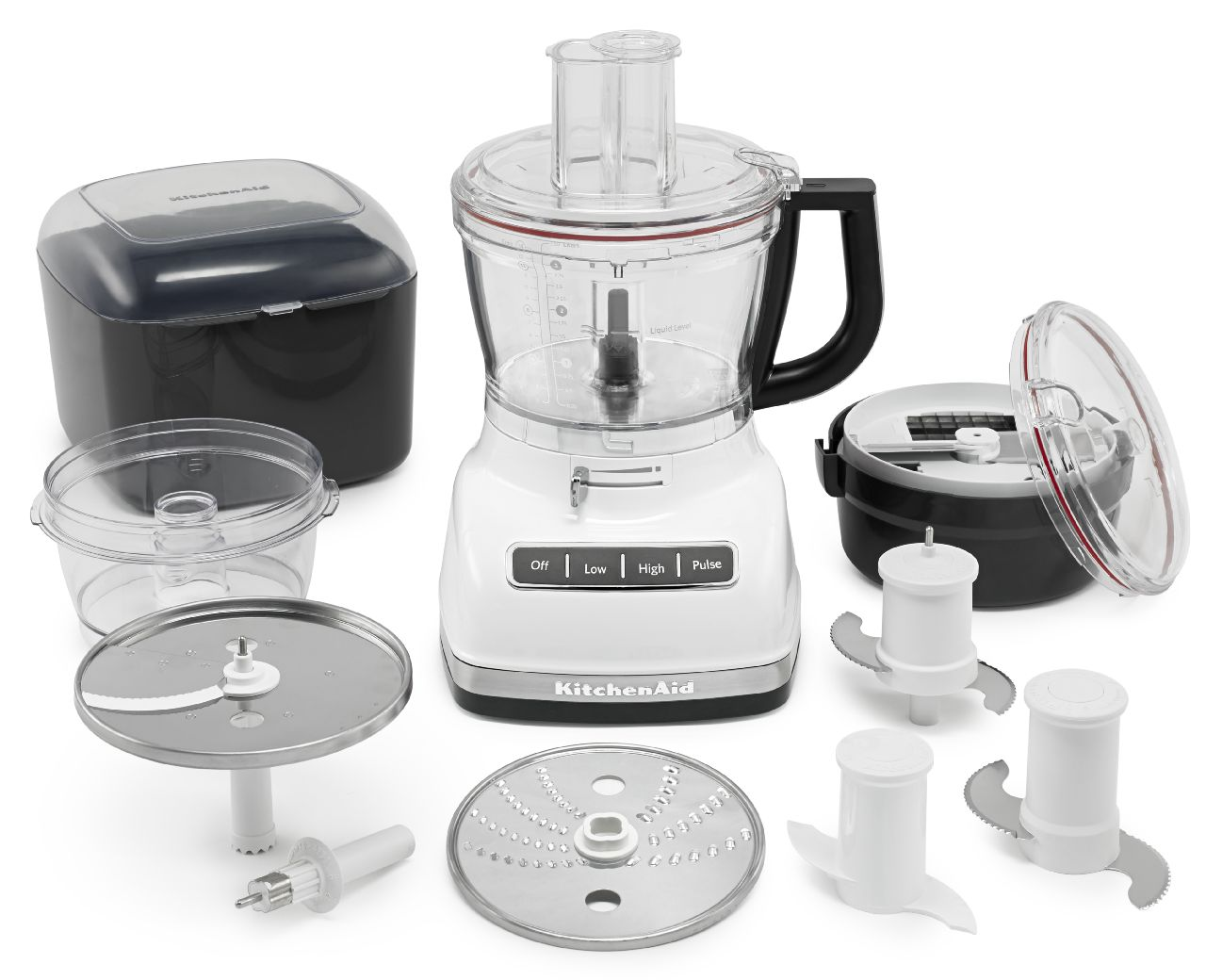 KitchenAid-14-Cup-Food-Processor-with-Commercial-Style-Dicing-Kit-KFP1466 thumbnail 11