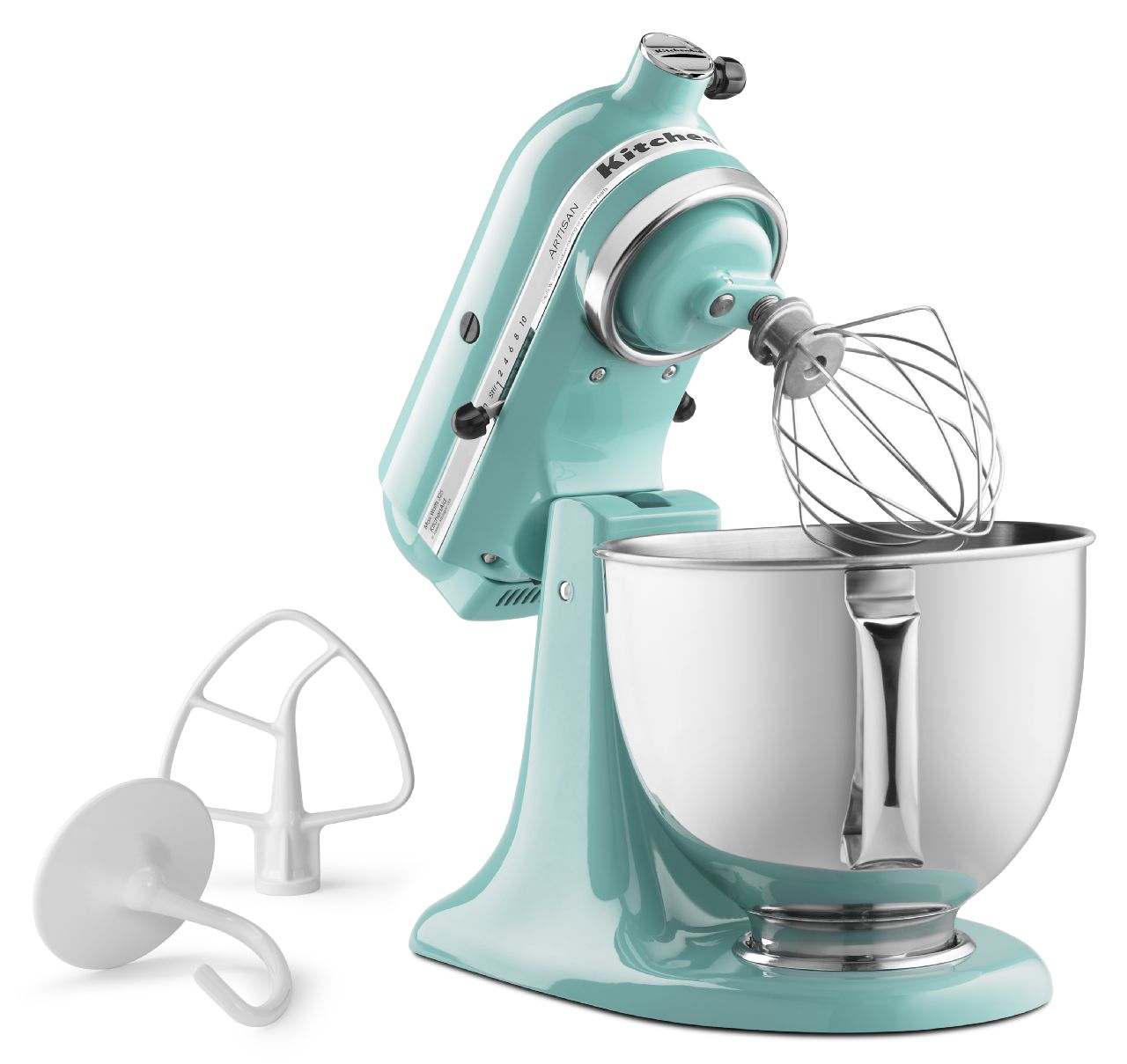 KitchenAid-Refurbished-Artisan-Series-5-Quart-Tilt-Head-Stand-Mixer-RRK150 thumbnail 7