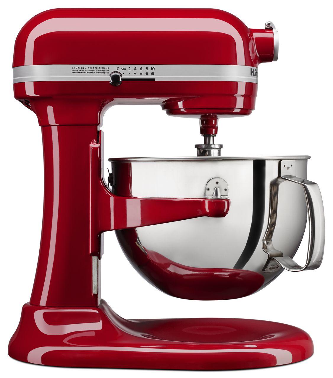 KitchenAid Professional 600 Bowllift Stand Mixer Empire Red 6 QT ...