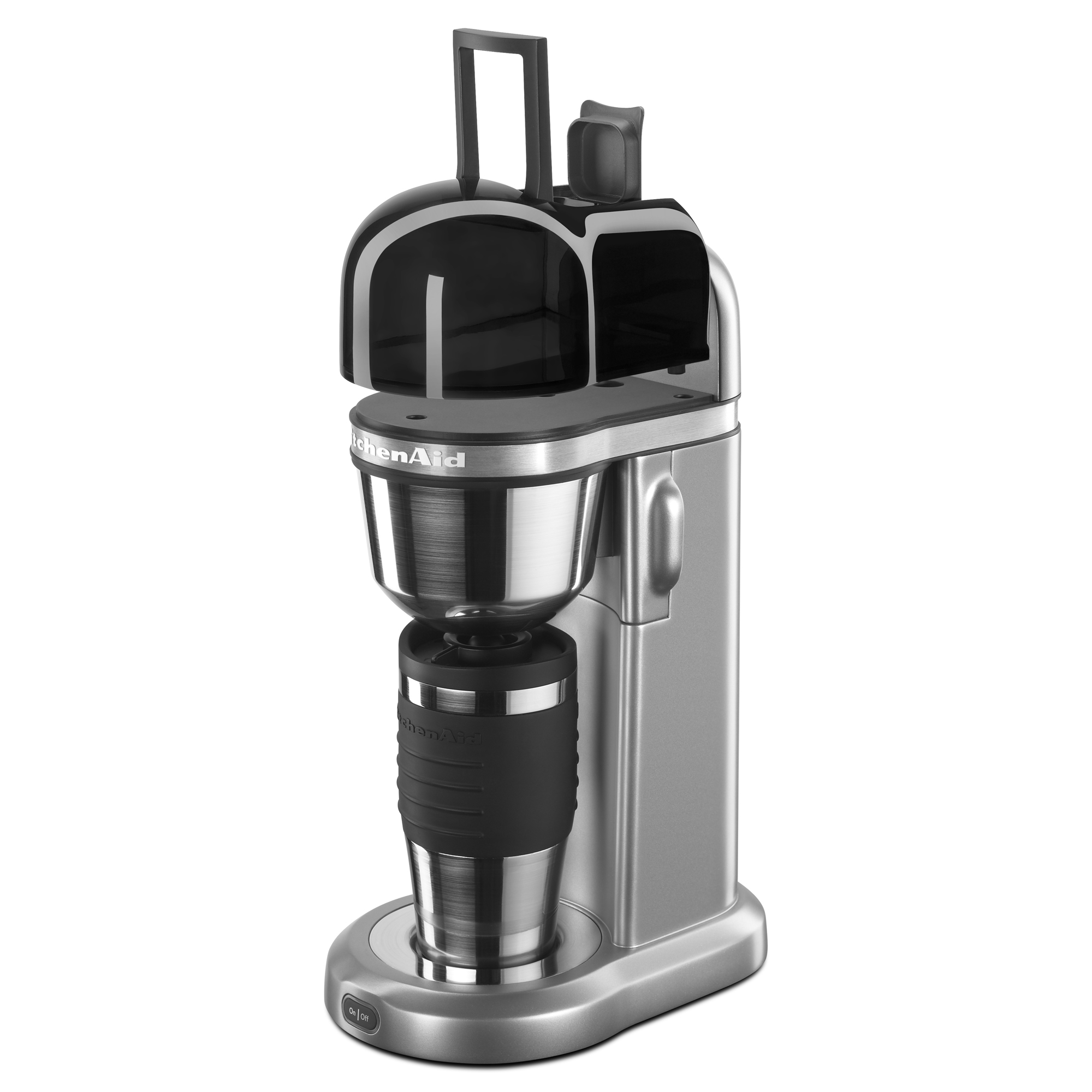 KitchenAid-Refurbished-Personal-Coffee-Maker-with-18-oz-Thermal-Mug-RKCM0402 thumbnail 5