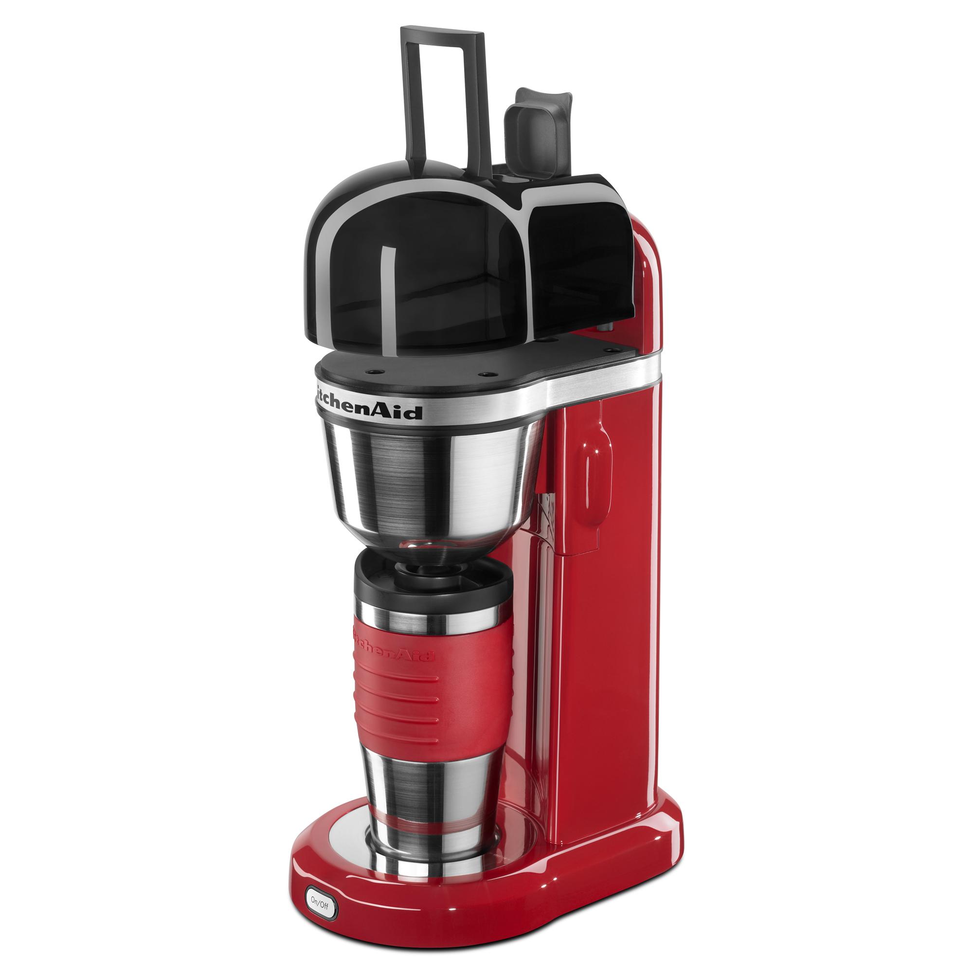 KitchenAid-Refurbished-Personal-Coffee-Maker-with-18-oz-Thermal-Mug-RKCM0402 thumbnail 8