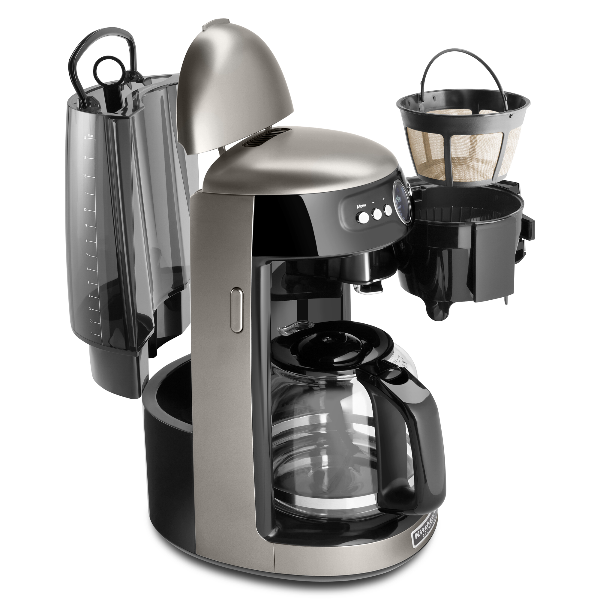 Kitchen Aid Coffee Maker | Details About Kitchenaid Refurbished 14 Cup Coffee Maker Rkcm1402