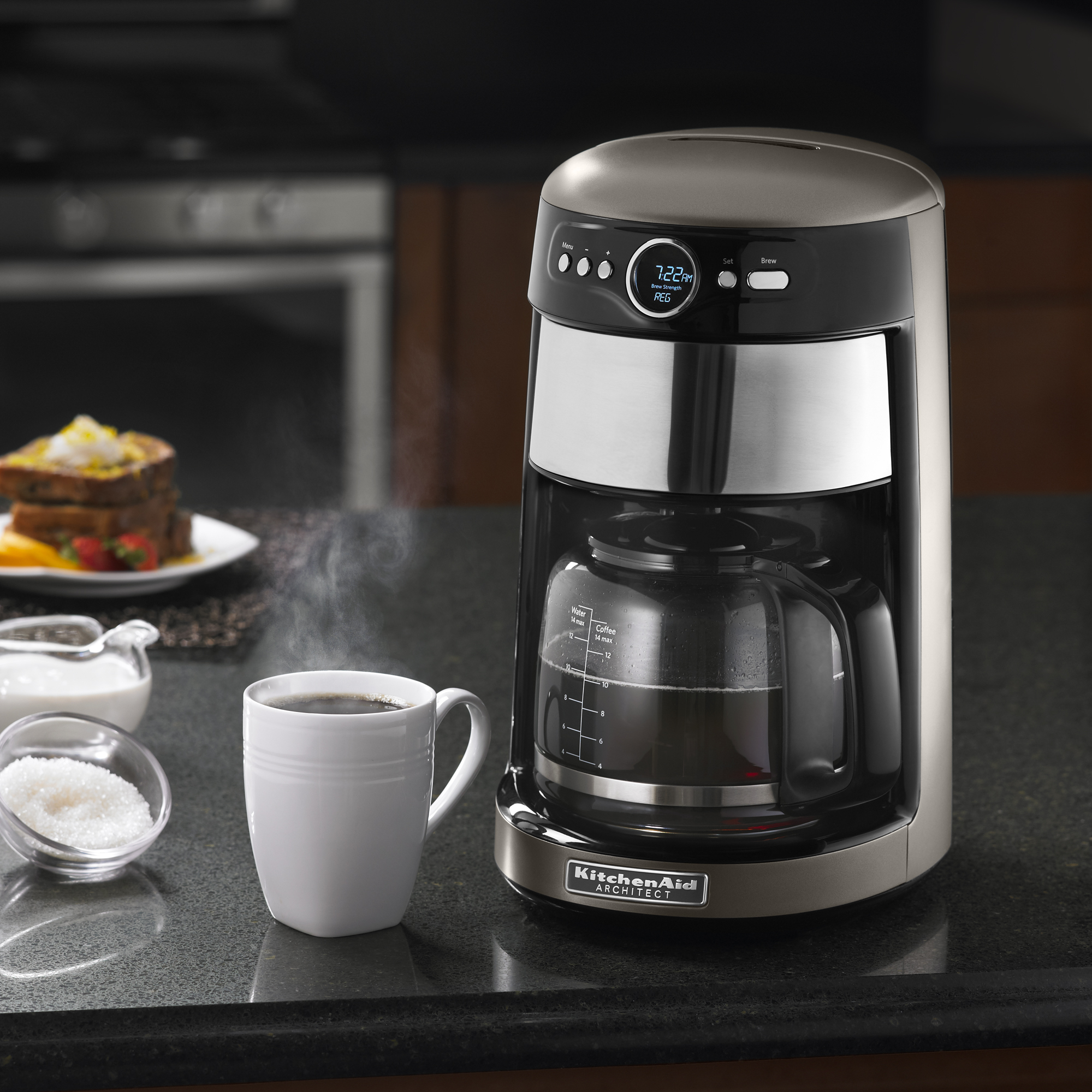 Details about KitchenAid® Refurbished 14 Cup Coffee Maker, RKCM1402