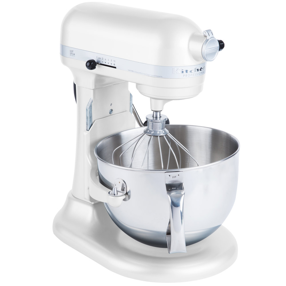 KitchenAid-Refurbished-Pro-600-Series-6-Quart-Bowl-Lift-Stand-Mixer-RKP26M1X thumbnail 41