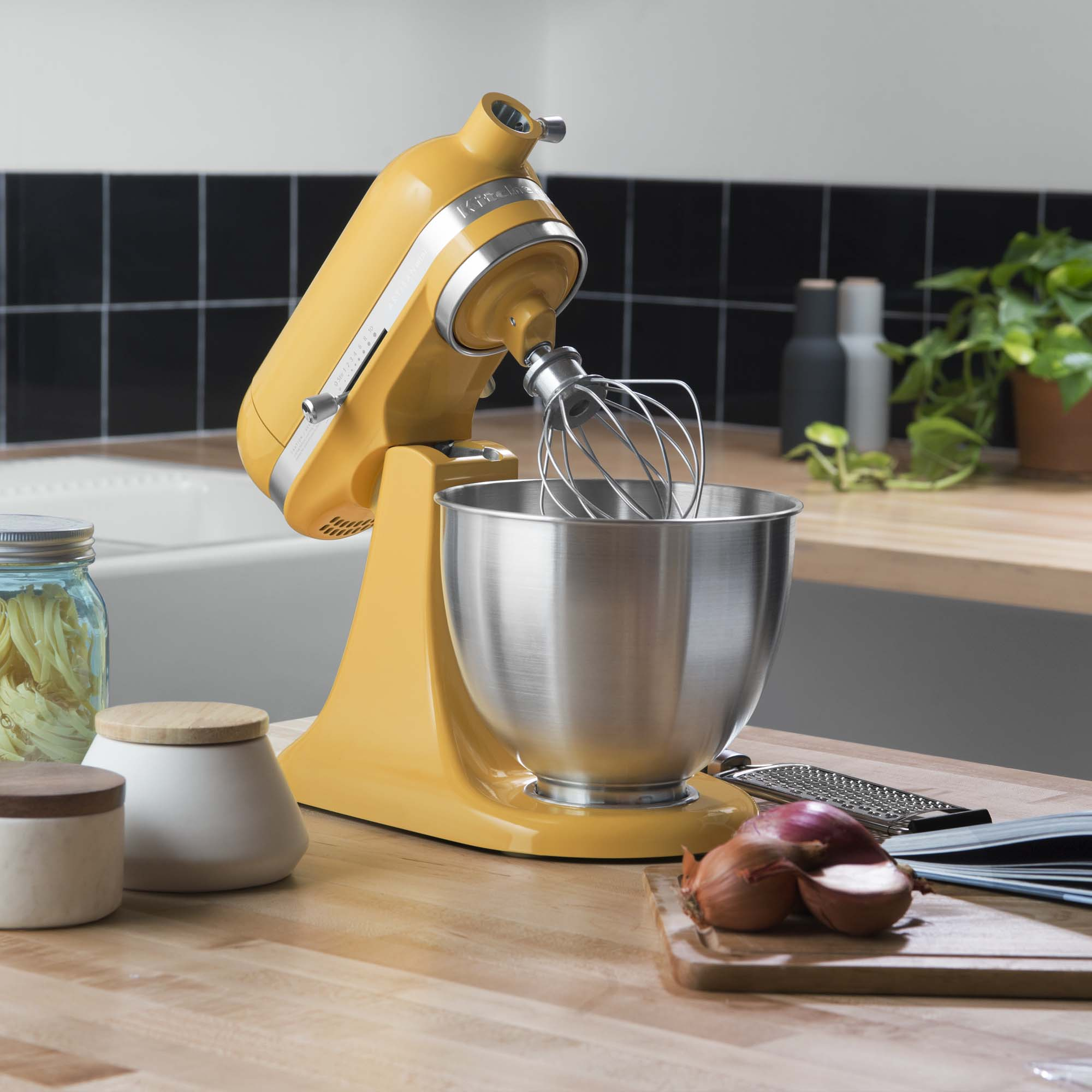KitchenAid-Refurbished-Artisan-Mini-3-5-Quart-Tilt-Head-Stand-Mixer-RKSM33XX thumbnail 9