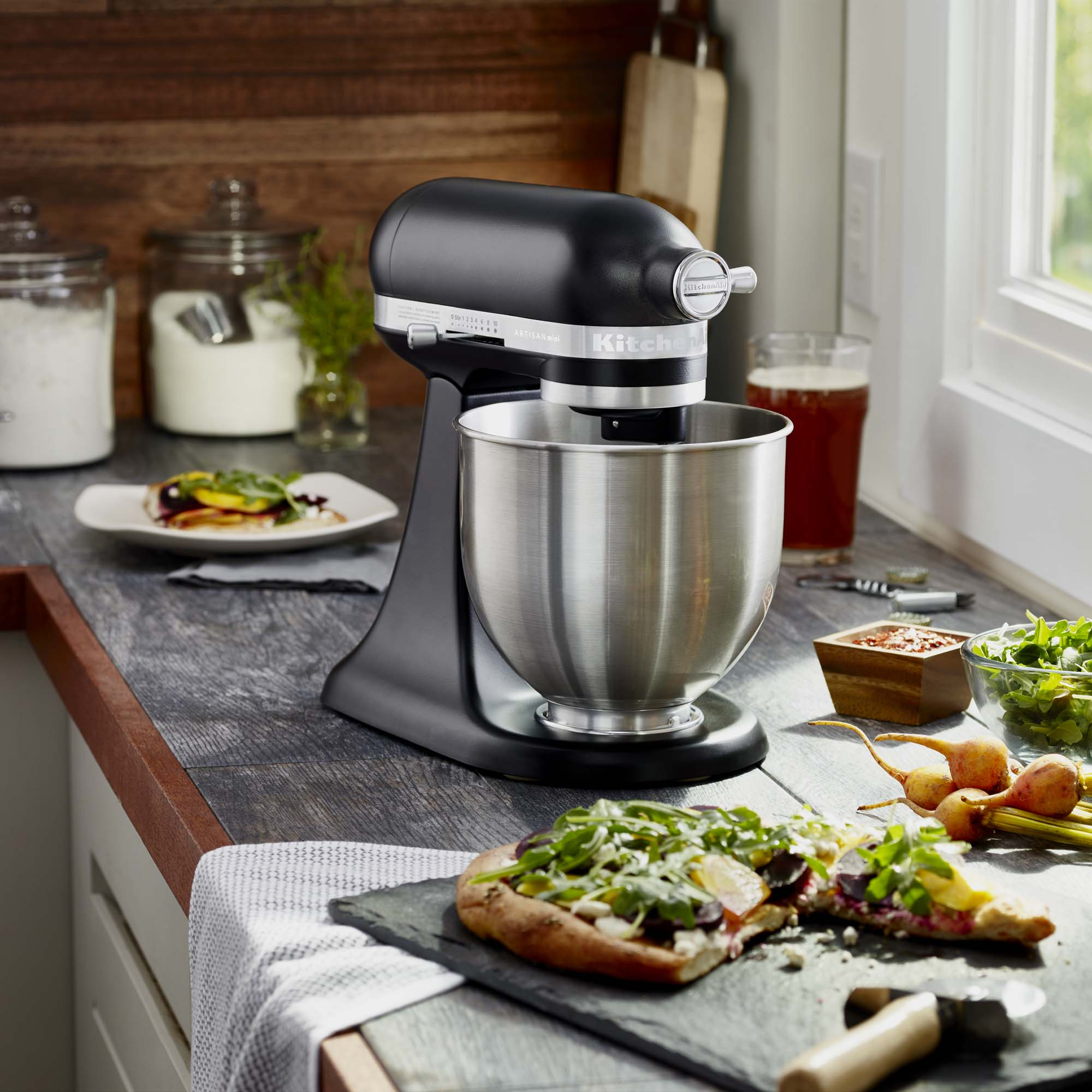 KitchenAid-Refurbished-Artisan-Mini-3-5-Quart-Tilt-Head-Stand-Mixer-RKSM33XX thumbnail 6
