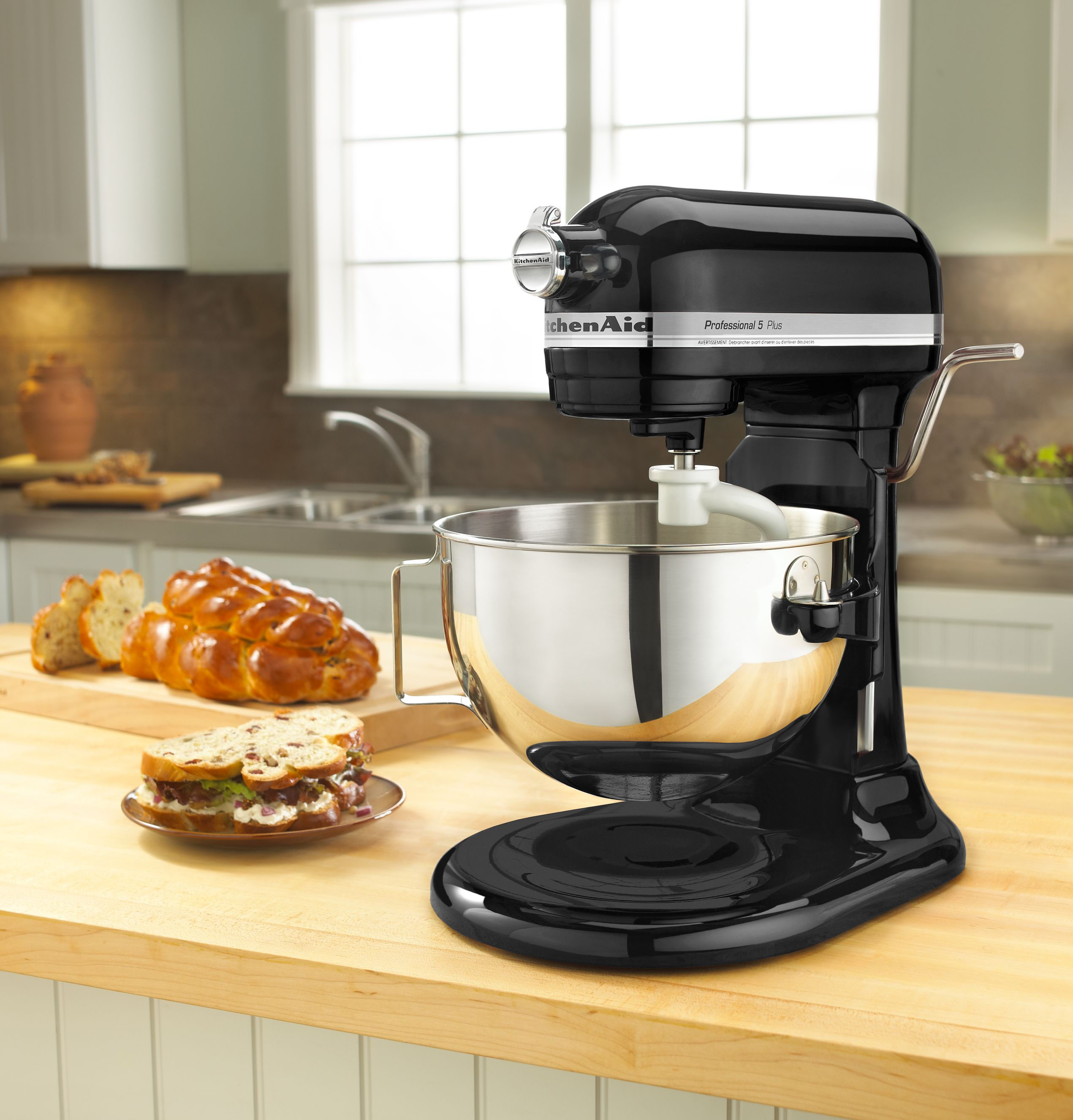KitchenAid-Refurbished-Professional-5-Plus-Series-Bowl-Lift-Stand-Mixer thumbnail 11