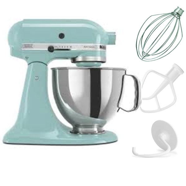 Genial KitchenAid RRK150AQ 5 QT Kitchen Mixer Artisan Series   Aqua Sky