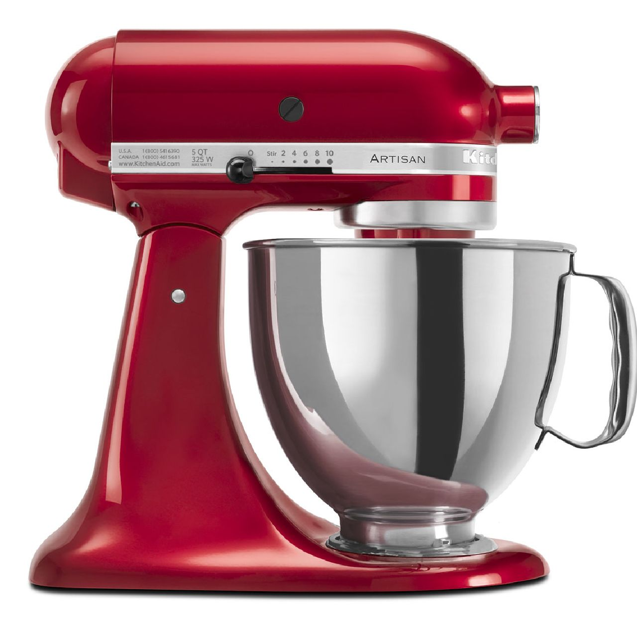 KitchenAid-Refurbished-Artisan-Series-5-Quart-Tilt-Head-Stand-Mixer-RRK150 thumbnail 22