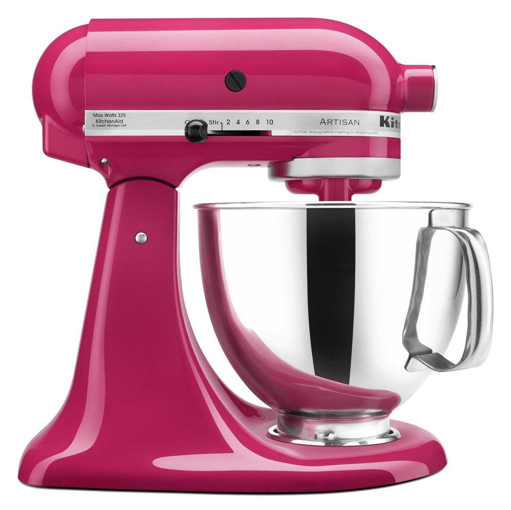 KitchenAid® Refurbished Artisan® Series 5 Quart Tilt-Head Stand Mixer, RRK150 Cranberry