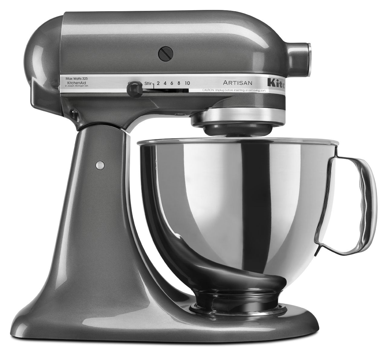 kitchenaid artisan series refurbished 5 qt tilt head. Black Bedroom Furniture Sets. Home Design Ideas