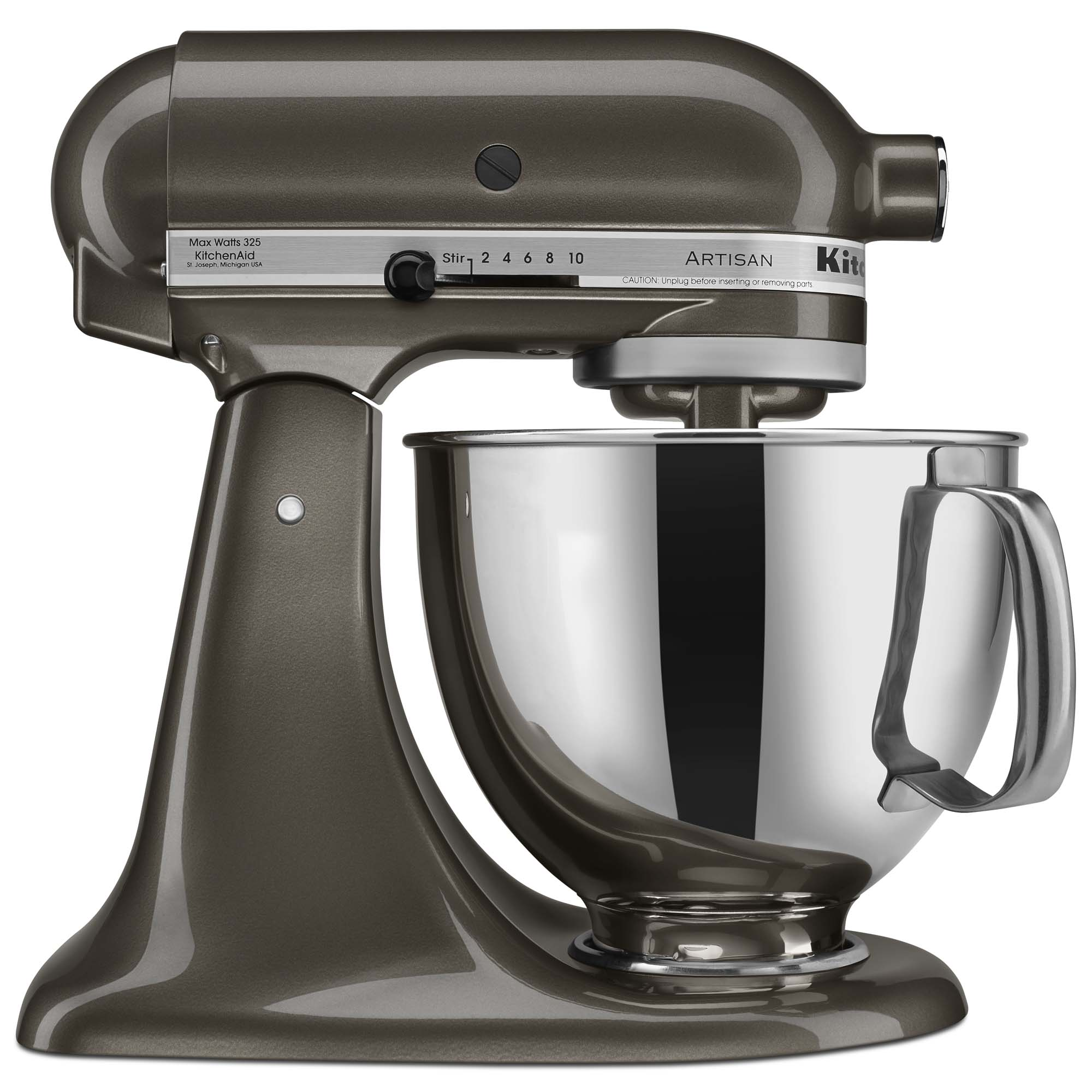 KitchenAid® Refurbished Artisan® Series 5 Quart Tilt-Head Stand Mixer, RRK150 Truffle Dust