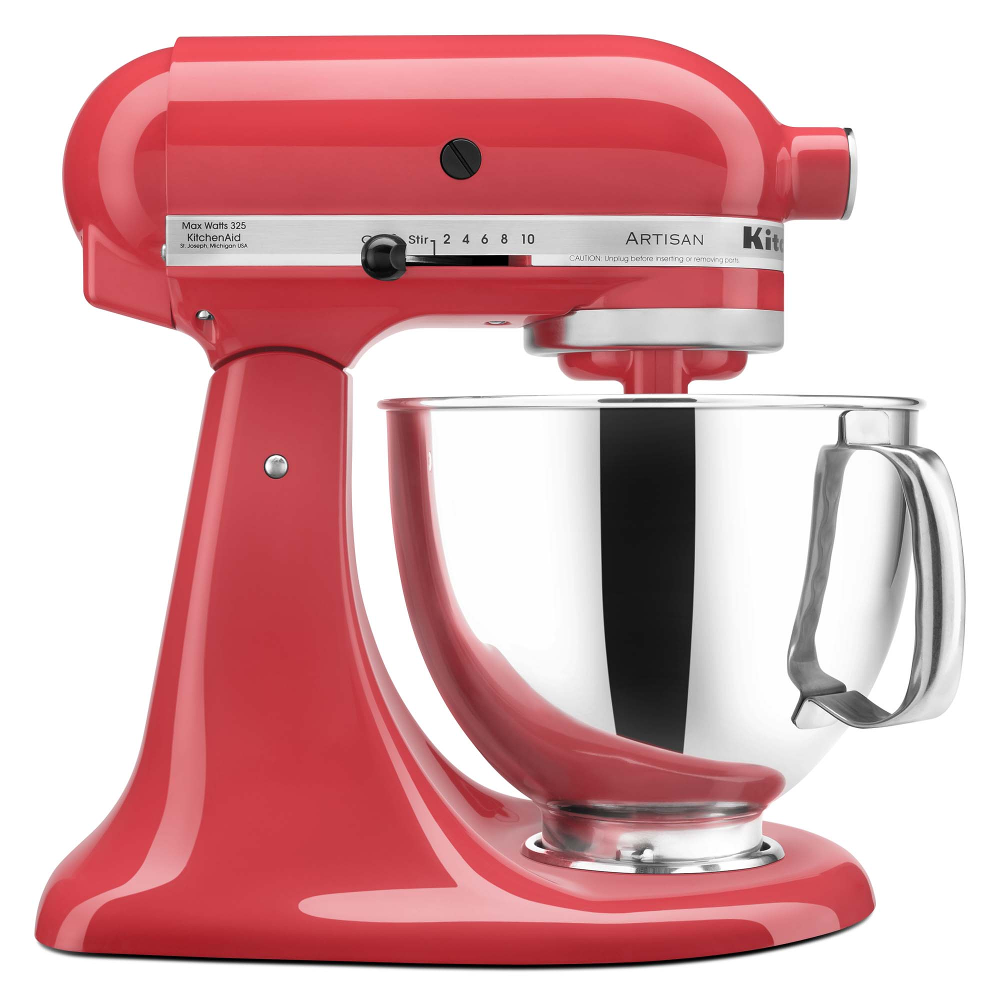 KitchenAid® Refurbished Artisan® Series 5 Quart Tilt-Head Stand Mixer, RRK150 Watermelon