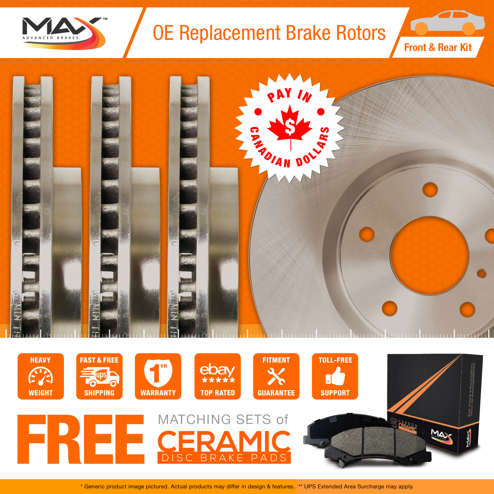 2014-2015-2016-2017-Dodge-Journey-OE-Replacement-Rotors-w-Ceramic-Pads-F-R