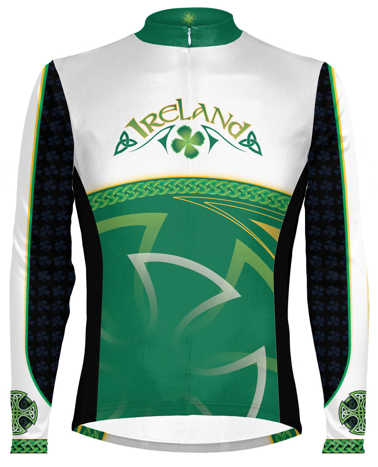 ee80d6963 SALE Primal Wear Ireland Cycling Jersey Mens Celtic Long Sleeve with DeFeet  Sox