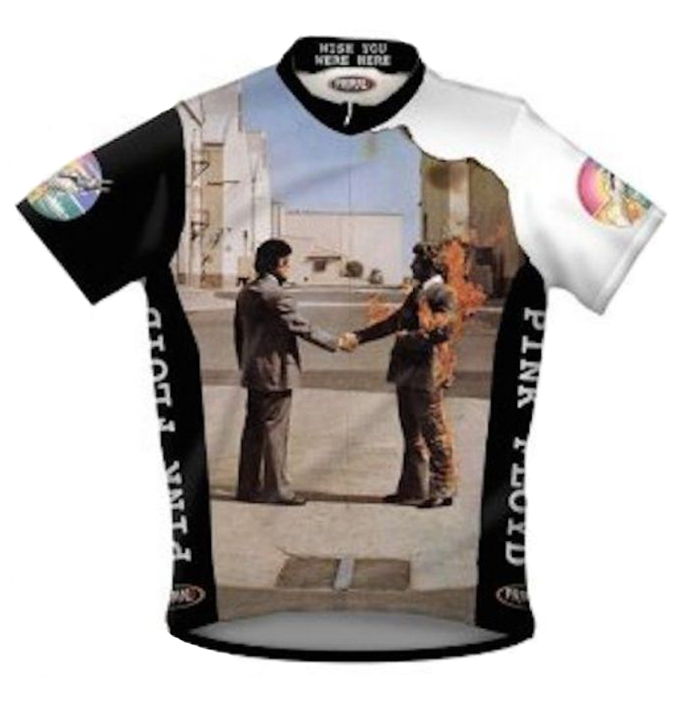 Primal Wear Pink Floyd Wish You Were Here Cycling Jersey Men S With