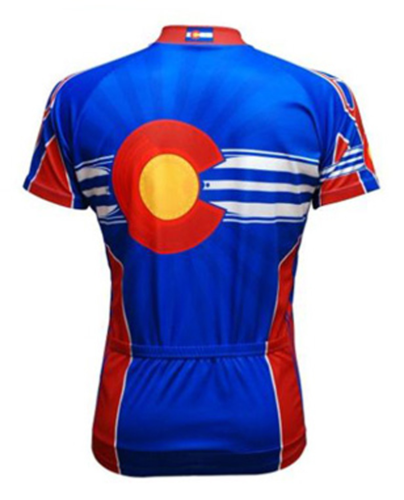 Primal Wear Colorado Flag Cycling Jersey Men s short sleeve bicycle bike +  sox. Thumb One. Thumb Two 9777cf172