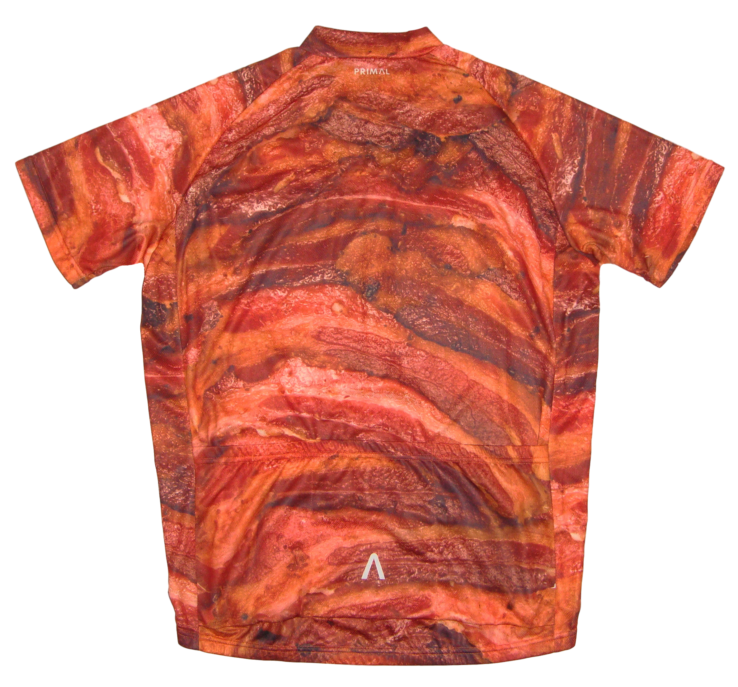 d43ffb5bf Primal Wear Bacon Cycling Jersey Mens short sleeve bicycle bike with DeFeet  sox. Thumb One. Thumb Two