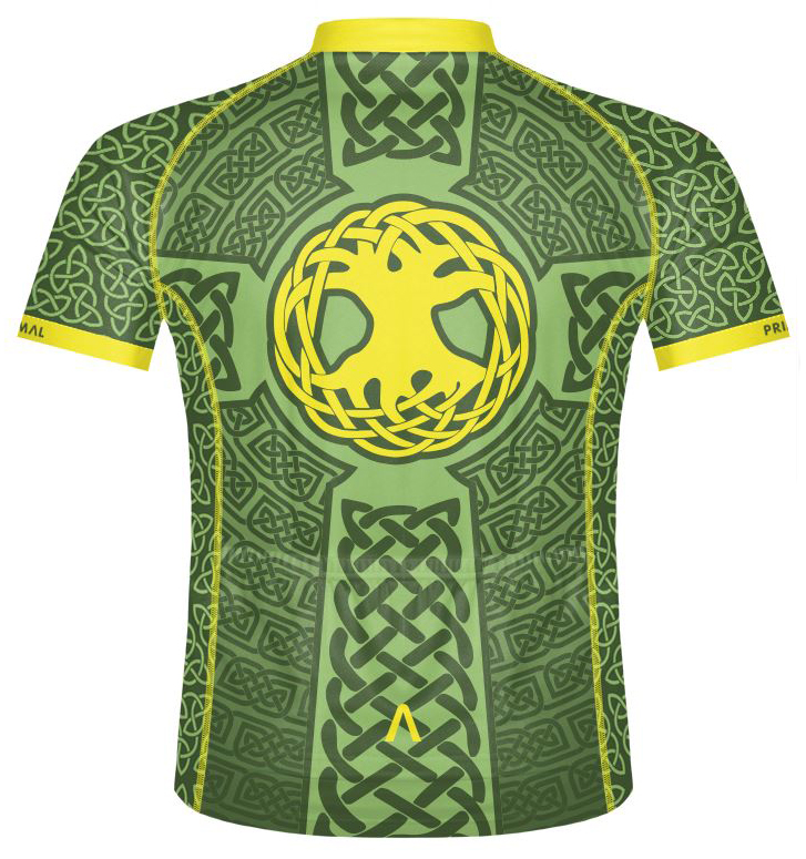 486166080 Primal Wear Ireland Cycling Jersey Irish Celtic Knot Men s short sleeve  with Sox. Thumb One. Thumb Two