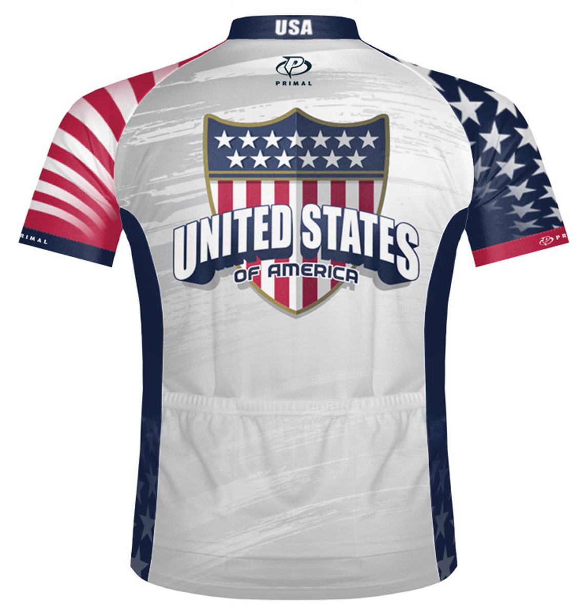 Primal Wear United States USA Cycling Jersey Mens short sleeve bicycle bike  +sox. Thumb One. Thumb Two 4573056c0