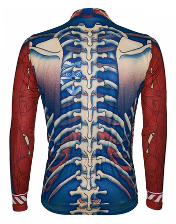 Primal Wear Bone Collector Men's Cycling Jersey Long Sleeve