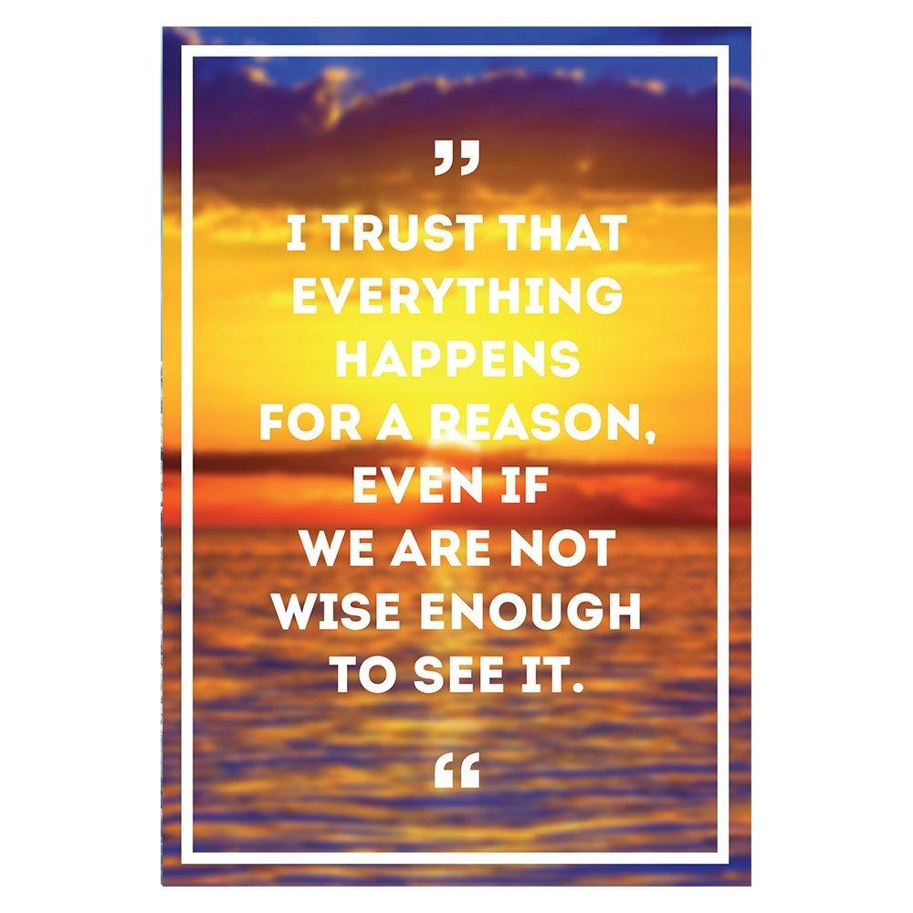 Motivational Quote Poster Wall Art Decor Positive Inspirational ...