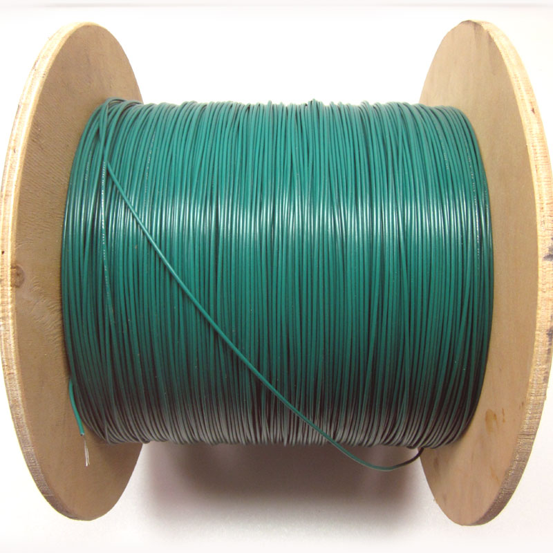 NEW 2,750 Ft 18AWG Hook Up Wire Green Electrical TR-64/AWM Reel ...