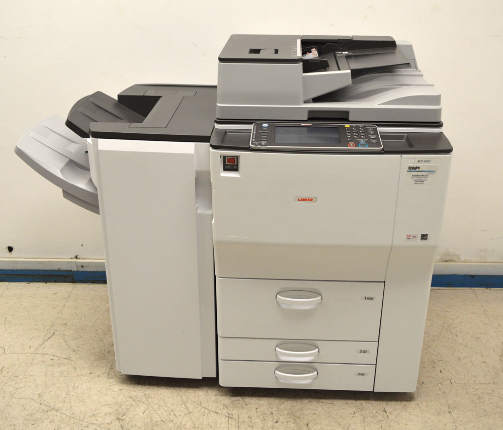 Ricoh Aficio MP 6002SP Printer PCL 6 Treiber Windows XP