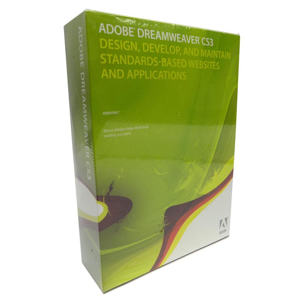 NEW Adobe Dreamweaver CS3 Upgrade Retail Package 38040463