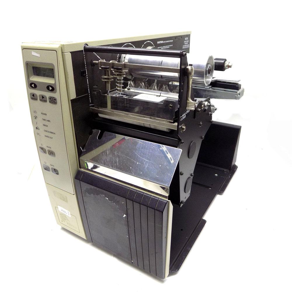zebra 140xi ii b w direct thermal transfer 4 label printer xi rh ebay com