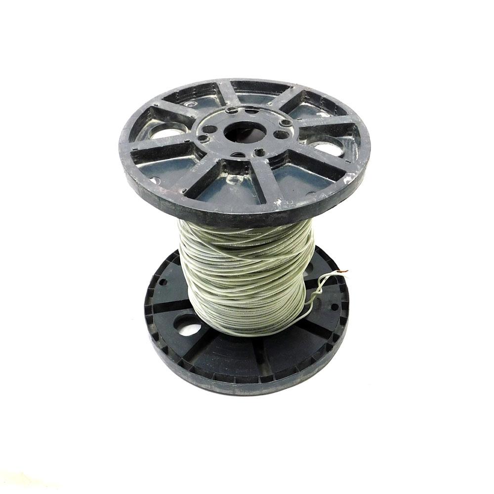 575\') Republic Wire E167614 12 AWG White Solid Copper Wire Spool ...
