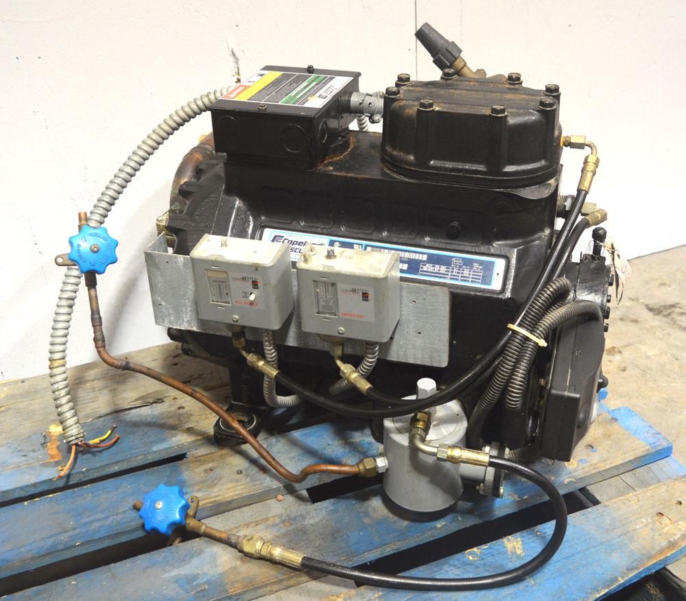 Copeland 2df3 030l Tfd 200 3 Hp Discus Compressor Semi Hermetic Wiring Pressure Sense