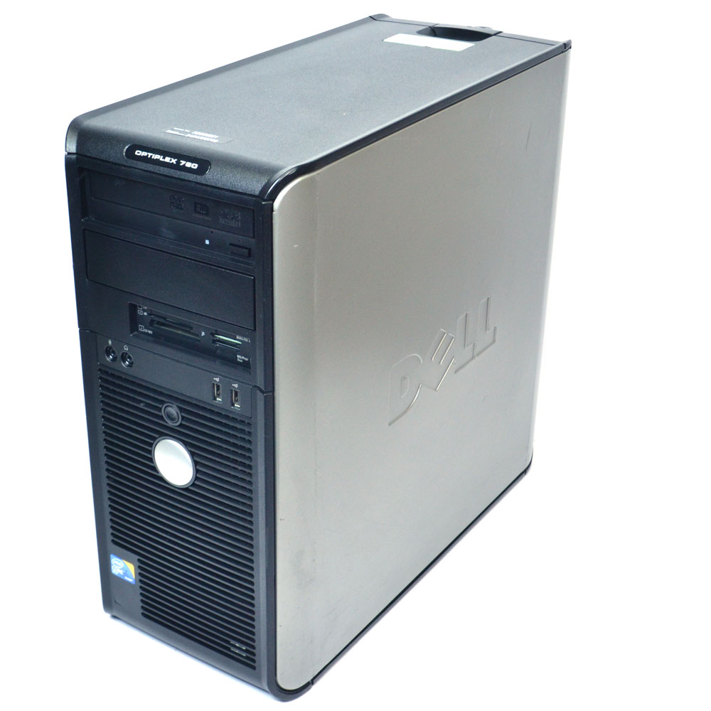Details about Dell OptiPlex 780 DCSM1F Computer Intel Core 2 Duo E8500  3 16GHz 4GB 250GB