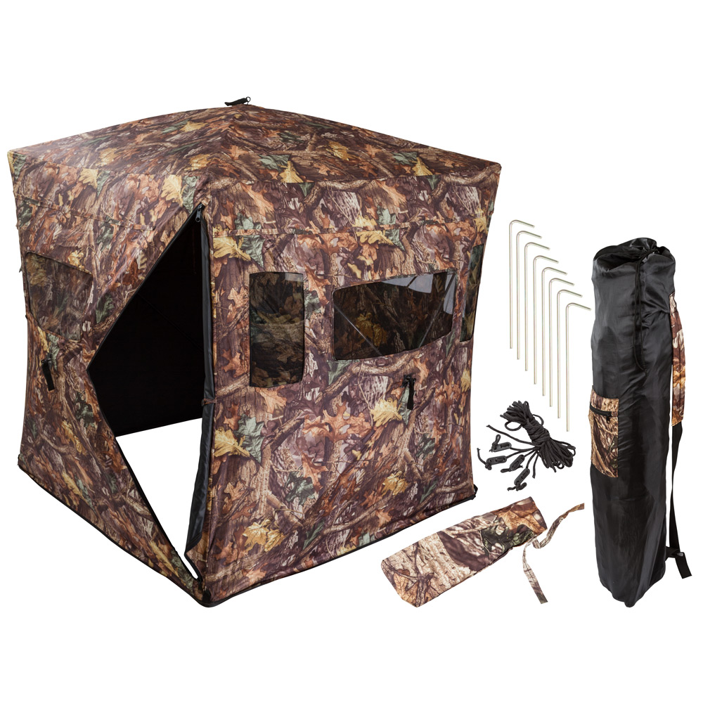 Camouflage Portable Ground Hunting Tent Stealth Deer