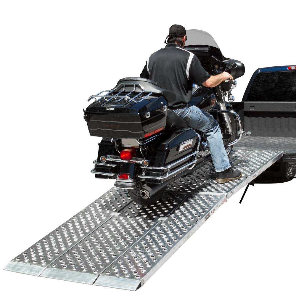 9' Big Boy EZ-Rizer Folding Aluminum Motorcycle-ATV
