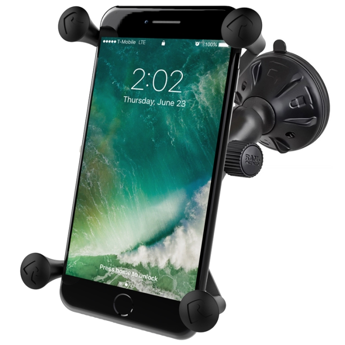 new style ee798 e7279 Ram Mounts Twist Lock Montaje De Ventosa Soporte Para Apple iPhone 6 ...