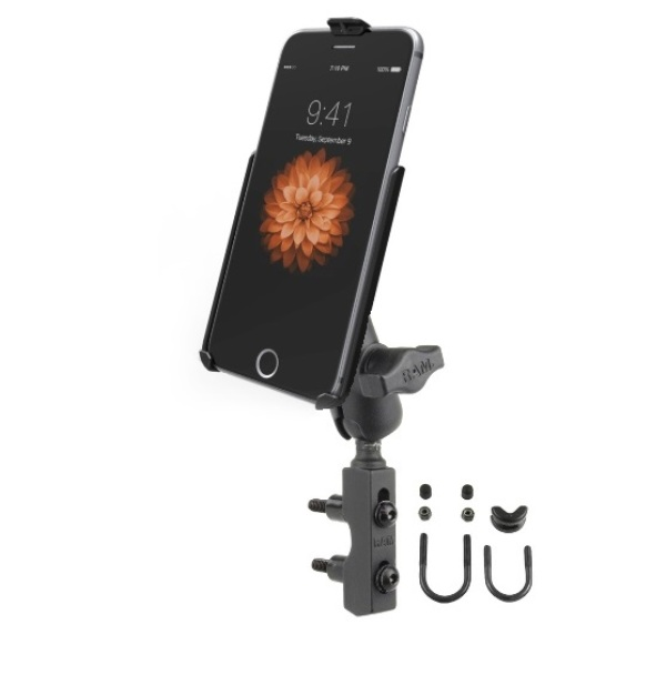Details about RAM Brake Clutch Short Arm Motorcycle Mount Holder for Apple  iPhone 6 & 7 Plus