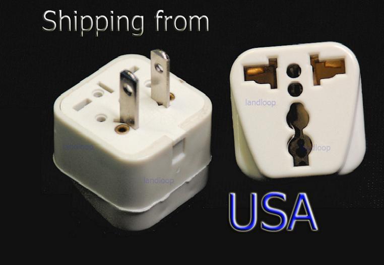 china europe eu to us usa travel power plug adaptor. Black Bedroom Furniture Sets. Home Design Ideas
