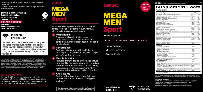 Mega-Men-Sport-180-Caplets-Mens-Multivitamin-with-Antioxidants thumbnail 4