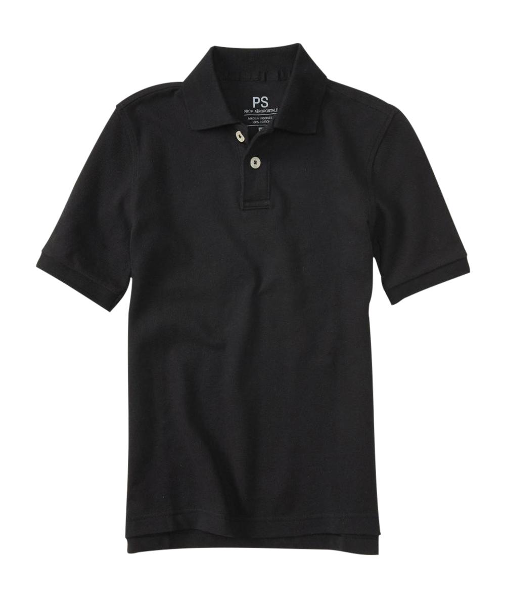 aeropostale kids ps boys' uniform pique polo shirt   eBay
