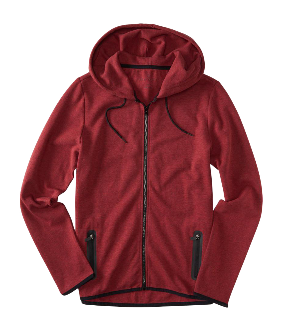 aeropostale mens prince & fox athleisure full zip hoodie ...
