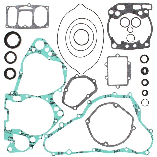 02 Suzuki RM250 Moose Complete Gasket Kit w// Oil Seals  811587