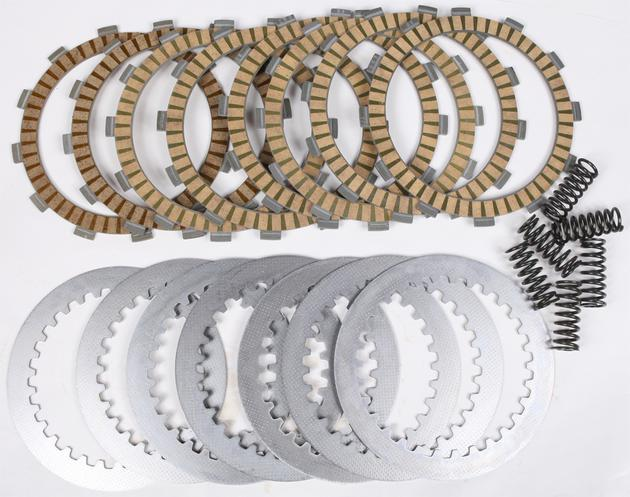 YZ 250 2T 2007 Set Clutch Friction Plates Fibre