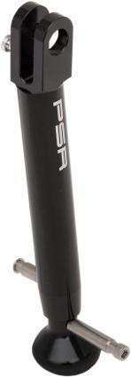 Adjustable Kickstand Black PSR 04-01115-22 For 09-18 Kawasaki KLR650