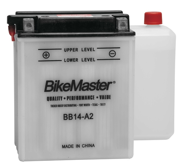 Details about BikeMaster Battery BB14-A2 Arctic Cat 500/400/650 H1/TBX  500/TRV400/MudPro 650